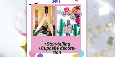 Themed birthday set