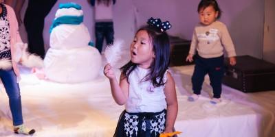 Анхны цас үзэгч хүүхдийн оролцоот жүжиг