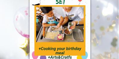 Creative chef's set