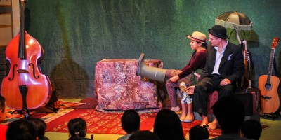 Denmark theatre - first time in Mongolia